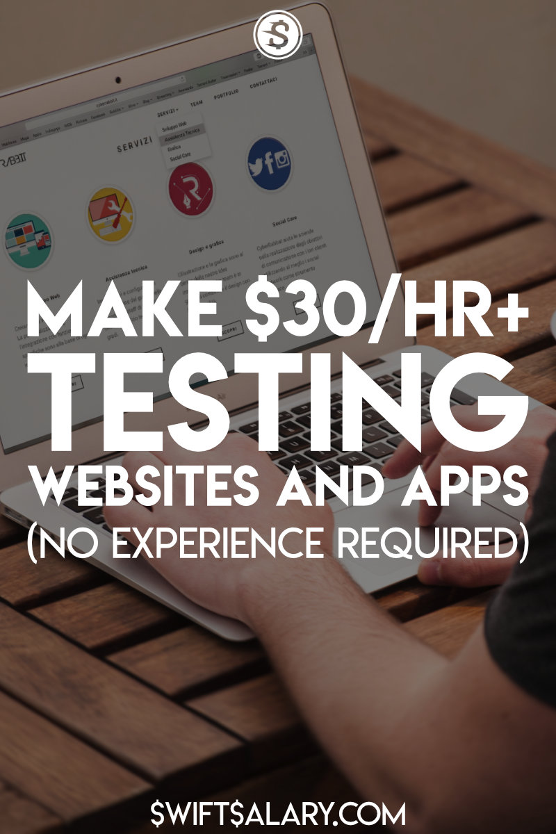 Get paid testing websites and apps