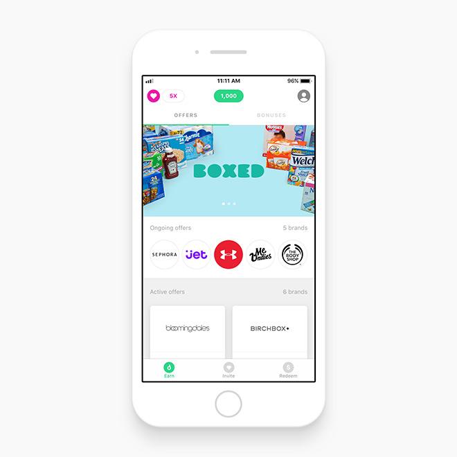Drop cash back app
