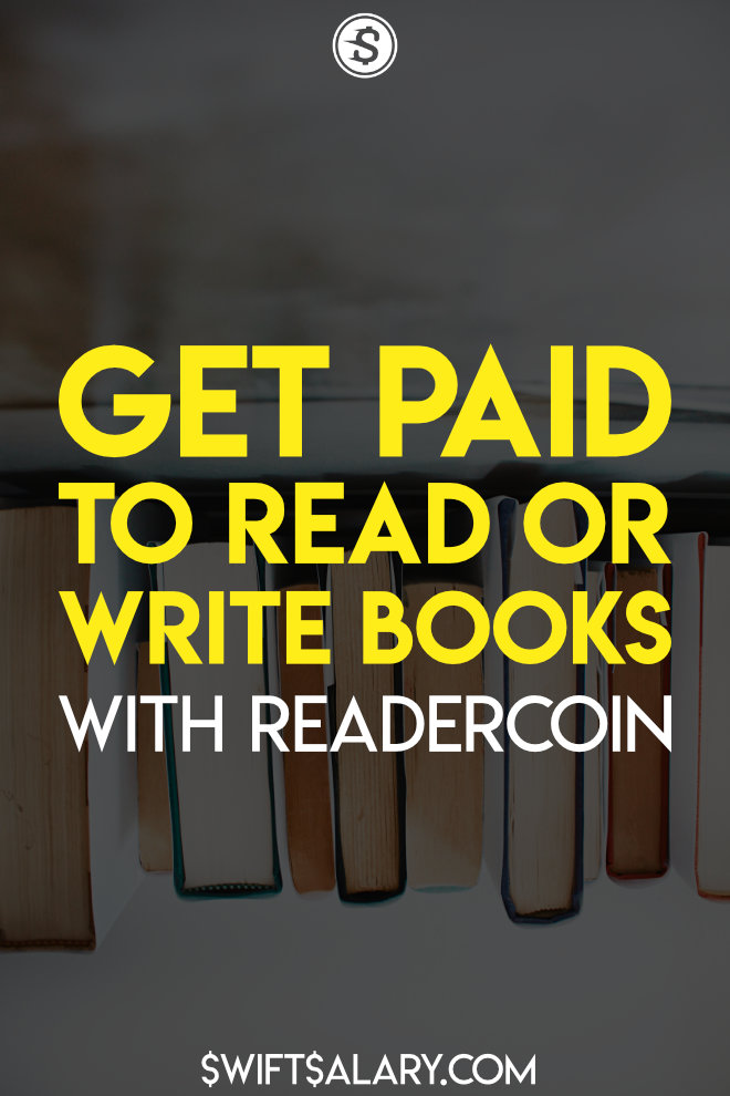 Would you like to get paid to read books? Well, with Readercoin, you can! You can get paid to write books as well! This is a great way to make extra cash from home, especially if you're a book lover! Learn more in this full Readercoin review. #extracash #getpaidtoreadbooks #getpaidtoread #readercoinreview