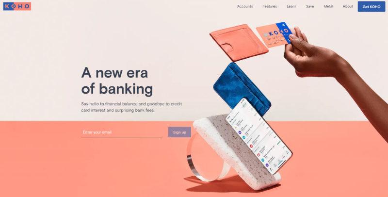 Koho homepage