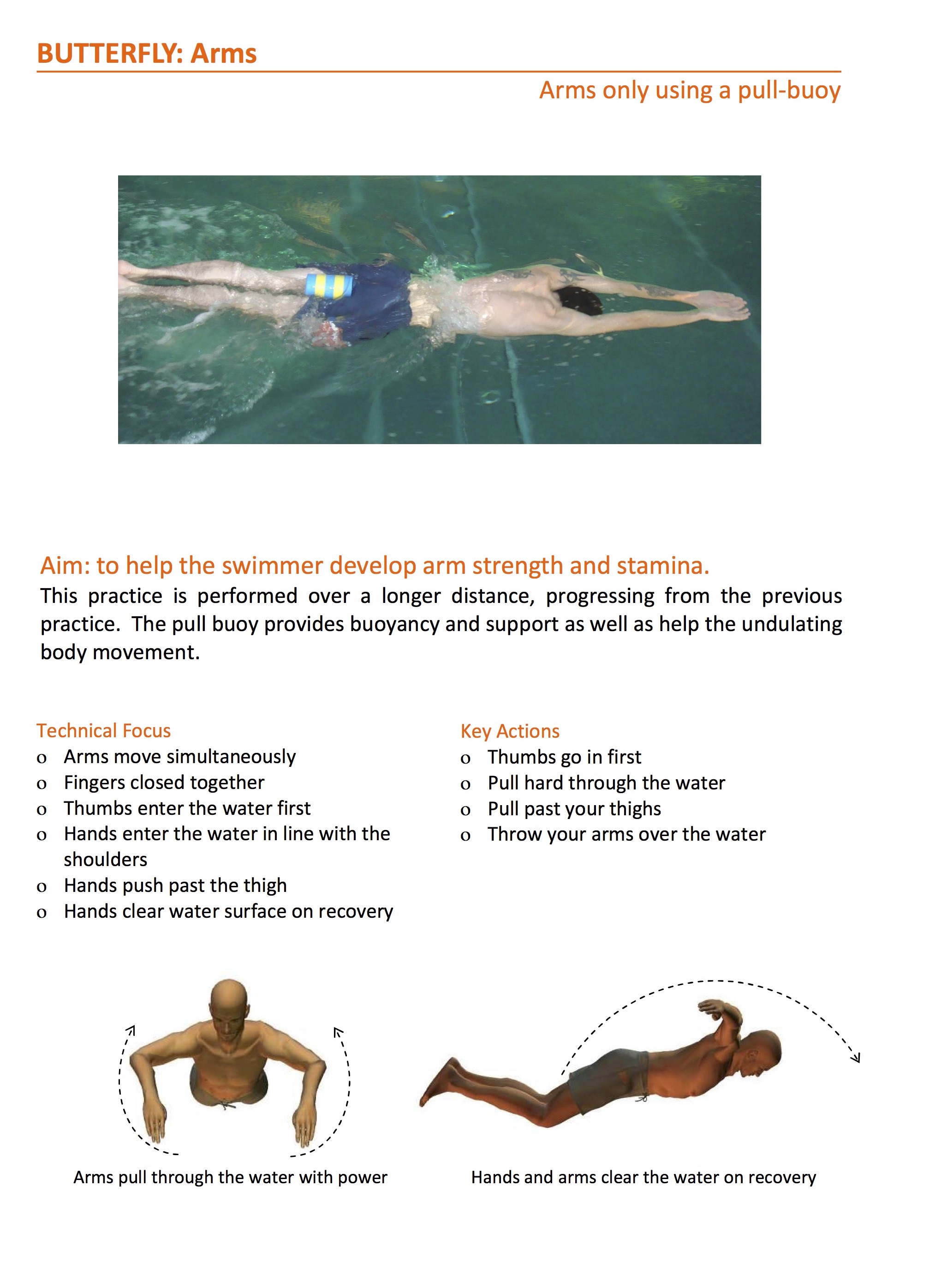 Butterfly Stroke Exercises To Take Beginners To The Next Level