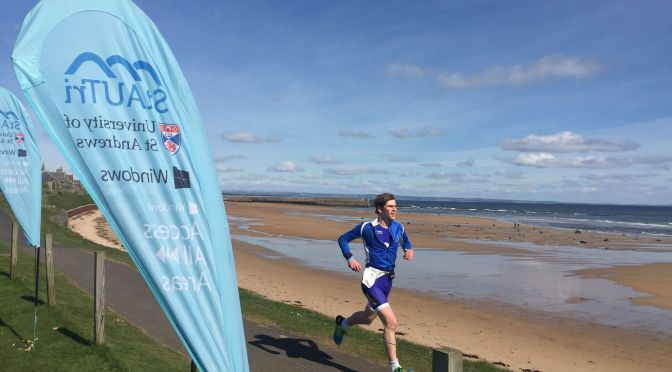 St Andrews Spring Sprint Triathlon – Race report