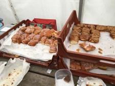 A small section of the cake offering at Monikie 217 Sprint Triathlon.