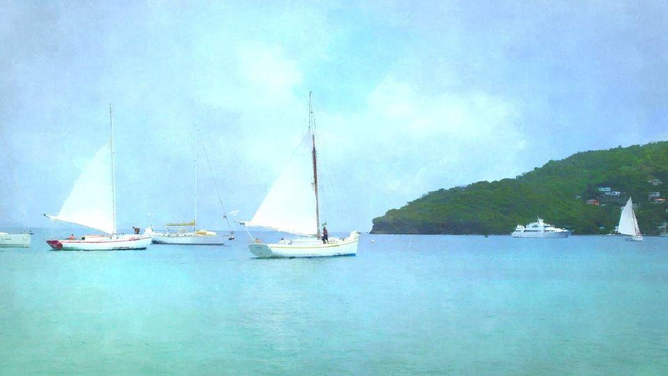 Bequia sloops, Caribbean