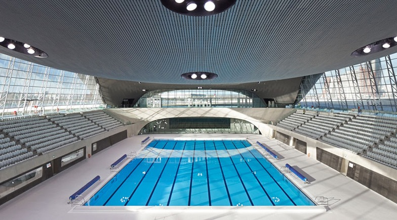 Zaha Hadidu0027s London 2012 Olympics Aquatic Centre Opens To The Public