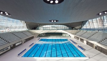 zaha hadids london 2012 olympics aquatic centre opens to the public