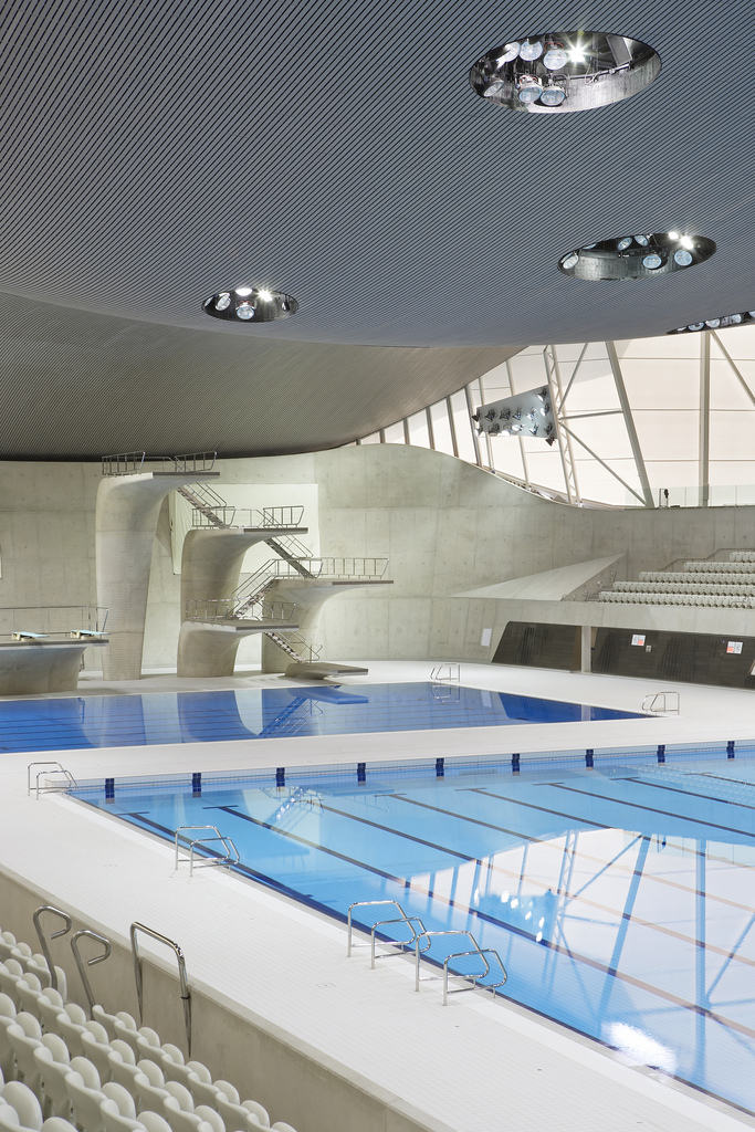 london aquatics centre photo