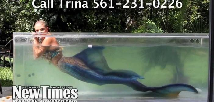"Hot, Wet, Mermaid Trina Mason: ""I Am an Aquaphile"""