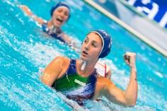 9 EMMOLO Giulia Enrica ITA LEN European Water Polo Championships 2016 Women ESP - ITA Spain (white) vs Italy (blue) Final 3th-4th Place Kombank Arena, Belgrade, Serbia Day13 22-01-2016 Photo G. Scala/Insidefoto/Deepbluemedia