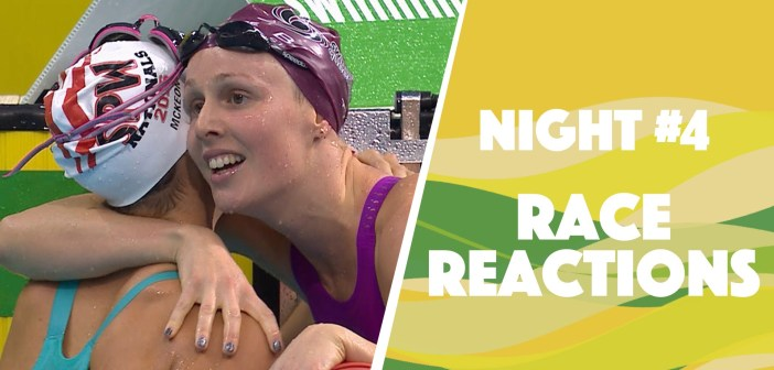 Australian Trials 2016 Night #4 Race Reactions