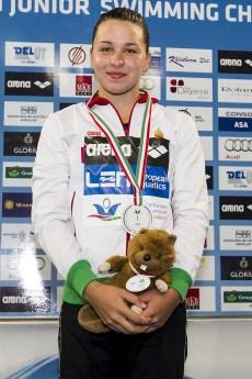 Kesely Ajna HUN 800 Freestyle Women Final Gold Medal LEN 43rd Arena European Junior Swimming Championships Hodmezovasarhely, Hungary Day01 06-07-2016 Photo Andrea Masini/Deepbluemedia/Insidefoto