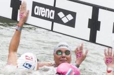 GRIMALDI Martina ITA gold medal Hoorn, Netherlands LEN 2016 European Open Water Swimming Championships Open Water Swimming Women's 25km Day 04 14-07-2016 Photo Giorgio Perottino/Deepbluemedia/Insidefoto