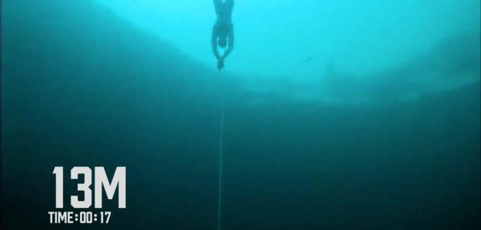 William Trubridge CNF World Record Freedive 102m