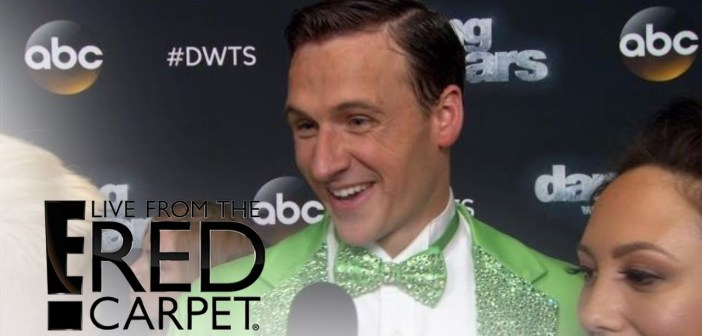 """Ryan Lochte Channels """"The Muppets"""" on """"DWTS"""""""