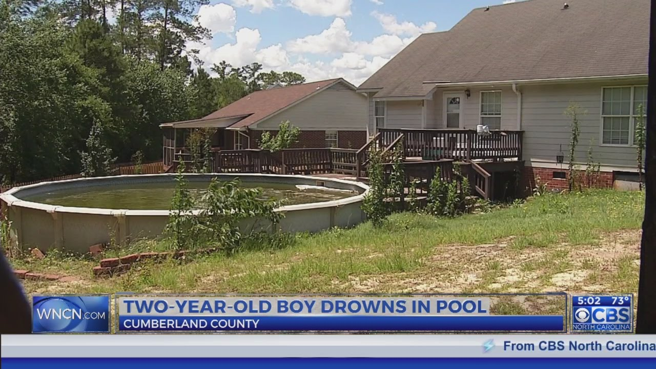 2-year-old boy crawls through doggie door at NC home, falls into swimming pool and drowns