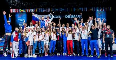 RUSSIA Team Copenhagen 17-12-2017 Royal Arena LEN European Short Course Swimming Championships - Campionati Europei nuoto vasca corta Foto © Giorgio Scala / Deepbluemedia