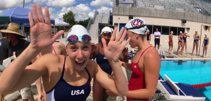 A Team of Olympians Become an Olympic Team