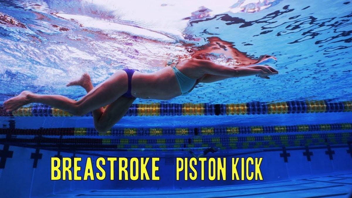 Breaststroke Piston Kick | The Race Club