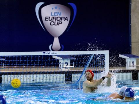 1 NAGY HUN HUN - GRE Hungary (white cap) -Vs. Greece (blue cap) LEN Europa Cup Men 2018 finals Water Polo, Pallanuoto Rijeka, CRO Croatia Day01 Photo © Giorgio Scala/Deepbluemedia/Insidefoto