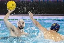 5 FONDELLI ITA ITA - ESP Italy (white cap) Vs. Spain (blue cap) LEN Europa Cup Men 2018 finals Water Polo, Pallanuoto Rijeka, CRO Croatia Day01 Photo © Giorgio Scala/Deepbluemedia/Insidefoto