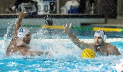 10 BODEGAS ITA, 2 VELOTTO ITA ITA - ESP Italy (white cap) Vs. Spain (blue cap) LEN Europa Cup Men 2018 finals Water Polo, Pallanuoto Rijeka, CRO Croatia Day01 Photo © Giorgio Scala/Deepbluemedia/Insidefoto