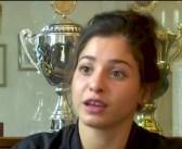 Syrian Swimmer Splashes into Stardom