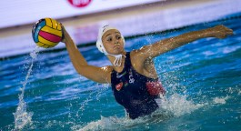 2 SZILAGYI Dorottya HUN - ESP Hungary (white caps) vs. Spain (blue caps) Barcelona 14/07/2018 Piscines Bernat Picornell Women qualification 33rd LEN European Water Polo Championships - Barcelona 2018 Photo Giorgio Scala/Deepbluemedia/Insidefoto