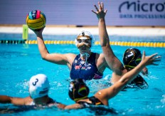 4 GURISATTI Greta FP HUN HUN - GER Hungary (white caps) vs. Germany (blue caps) Barcelona 21/07/18 Piscines Bernat Picornell Women qualification 33rd LEN European Water Polo Championships - Barcelona 2018 Photo Pasquale Mesiano/Deepbluemedia/Insidefoto