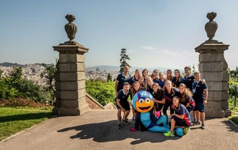 ESP Women team Press Conference 33rd LEN European Water Polo Championships - Barcelona 2018 Barcelona (ESP) - Piscines Bernat Picornell Photo Giorgio Scala/Deepbluemedia/Insidefoto