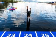 Team Event 5km Glasgow 11/08/2018 Open Water Swimming Loch Lomond and The Trossachs National Park LEN European Aquatics Championships 2018 European Championships 2018 Photo Andrea Staccioli /Deepbluemedia /Insidefoto
