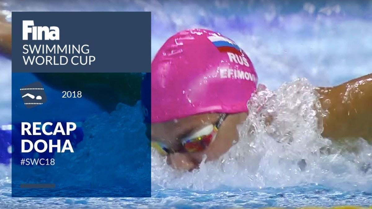 Doha Highlights #SWC18   FINA Swimming World Cup 2018