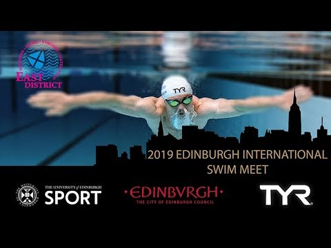 Edinburgh International Swim Meet 2019 - Live Streaming and Results