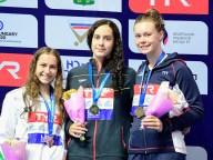 400 Individual Medley women medal ceremony LEN European Swimming Junior Championships 2019 Aquatic Palace Kazan Day1 03/07/2019 Photo G.Scala/Deepbluemedia/Insidefoto