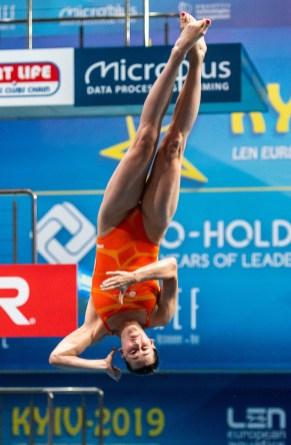 JANSEN INGE NED Netherlands Women - 3m Springboard - Final Kyiv, Ukraine UKR 08/08/2019 Diving Len European Diving Championships 2019 Sport Arena Liko Kyiv, Ukraine Photo © Giorgio Scala / Deepbluemedia / Insidefoto