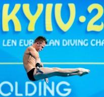 SEREDA OLEKSII UKR Ukraina Men - Platform - Preliminary Kyiv, Ukraine UKR 11/08/2019 Diving Len European Diving Championships 2019 Sport Arena Liko Kyiv, Ukraine Photo © Giorgio Scala / Deepbluemedia / Insidefoto