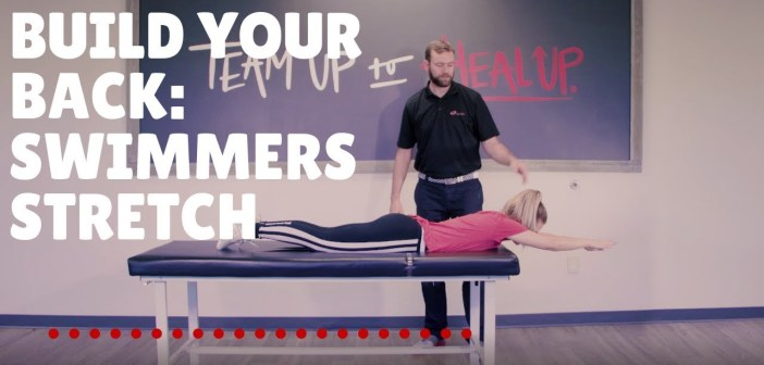 Build Your Back Muscles – Swimmer's Stretch