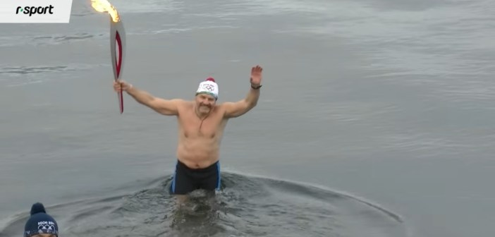 Champion ice swimmer drowns in Yenisei River