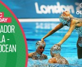 """Spain's Artistic Swimming Free Routine to """"El Oceano"""" at London 2012 