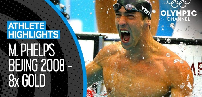 Michael Phelps – All Eight Gold Medal Races at Bejing 2008! | Athlete Highlights