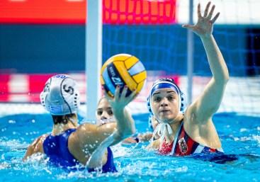 3 PANTOVIC Jovana SRB Serbia Budapest 12/01/2020 Duna Arena GRE - Greece (white caps) Vs. SRB - Serbia (blue caps) XXXIV LEN European Water Polo Championships 2020 Photo ©Pasquale Mesiano / Deepbluemedia / Insidefoto