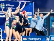 Hungary Budapest 17/01/2020 Duna Arena Hungary (white caps) Vs. Greece (blue caps) Women XXXIV LEN European Water Polo Championships 2020 Photo ©Giorgio Scala / Deepbluemedia / Insidefoto