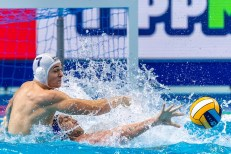 7 HUN POHL Zoltan Hungary Budapest 22/01/2020 Duna Arena Hungary (white caps) Vs. Russia (blue caps) Men XXXIV LEN European Water Polo Championships 2020 Photo ©Giorgio Scala / Deepbluemedia / Insidefoto