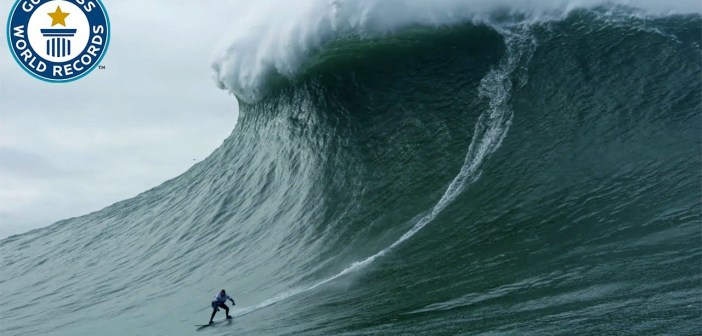 Largest wave surfed – Guinness World Records