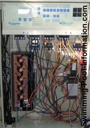digital swimming pool controls