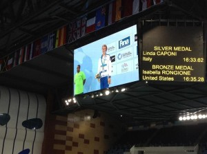 Linda Caponi Argento nei 1500 Dubai 2013