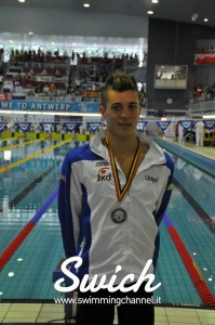Luca Mencarini Aniene Ph. Eurojunior Anversa 2012 by Swimming Channel