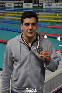 Davide Carlier - Centro Nuoto Torino - Ph.Swimmingchannel.it