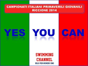 ITALIANI GIOVANILI 2014 - YES YOU CAN!