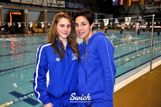 Jessica Lattanzi e Francesca Annis