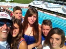I teppistelli swimming channel, Sofia Abate, Beatrice Orrù, Martina Pillittu, Enrico Puxeddu e Lorenzo Gasbarri.